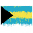 Flag of Bahamas - Stock Vector