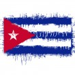 Flag of cuba — Stock Vector