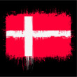 Flag of denmark — Stock Vector