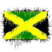 Flag of jamaica — Stock Vector