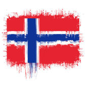 Flag of norway — Stock Vector