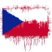 Flag of Czech republic — Stock Vector