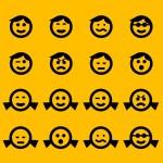 Постер, плакат: Smiley symbols