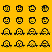 Smiley symbols — Vetorial Stock