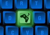 Keyboard button — Stock Vector