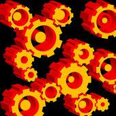 Gears and cogwheels — Stock Vector