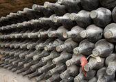 Old bottles — Stock Photo