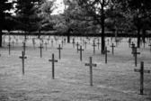 German war cemetery — Stock Photo