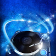 Vinyl player — Foto Stock