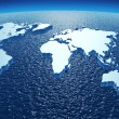 Stock Photo: Continents of Earth