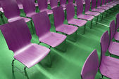 Empty chairs — Stock fotografie