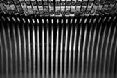 Typewriter alphabet — Stock Photo
