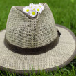 Straw hat - Stock Photo