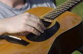 Akkustik, gitarre — Stockfoto