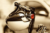 Motorfiets helm — Stockfoto