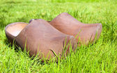 Wooden clogs — Stock Photo