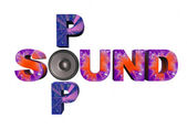Sound and pop — 图库照片