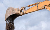 Digger shovel — Stock Photo