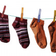 Womanish socks — Stock Photo