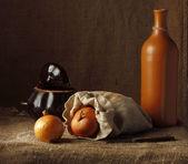 Piccola sacca con lampadine — Foto Stock