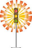 Traffic Lights — Wektor stockowy