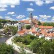 Cesky Krumlov panorama — Stock Photo