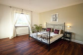 The modern bedroom — Stock Photo