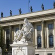 Berlin alexander von humboldt universitiy - Stock Photo