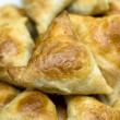 Asian pies with meat, samsa on the white background — Stock Photo #6001241