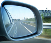 Rearview. — Stock Photo