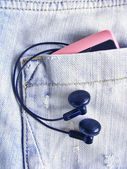 Jeans Pocket. — Stock Photo
