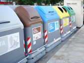 Recycling container. — Stock Photo