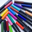 Color felt-tip pen — Stock Photo