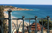Sea view from the balconi. — Stock Photo