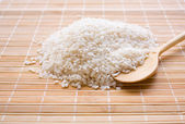Grains of white rice — Stock Photo