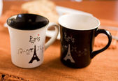Two similar cup. — Stock Photo