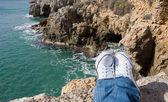 Marine rocky coast. — Stock Photo
