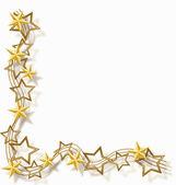 星のフレーム — ストックベクタ