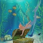 Mermaid — Stock Photo