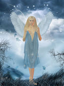 Lovely angel — Stock Photo