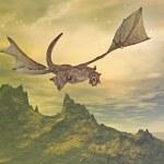 Dragon flight — Stock Photo
