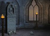 Altar assustador — Foto Stock