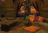 Notte araba — Foto Stock