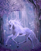 Ultimo unicorno — Foto Stock