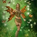 Cute fairy — Stock Photo
