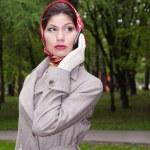 Fasionable asian business woman — Stock Photo