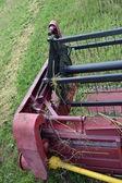 Harvester, mower, combine detail. — Stock Photo