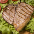Stock Photo: Grilled beef steak