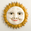 Sunny face — Stock Photo