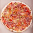 Delicious pizza — Stock Photo #6166790